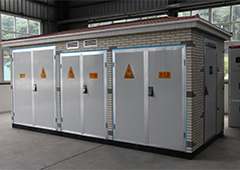 H/ LV prefabricated substation